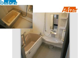 お風呂細部までこだわった機能的なシステムバス